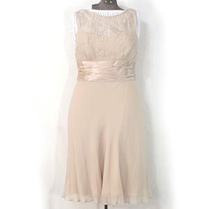 Anne Klein Soft Rose Pink Silk Dress